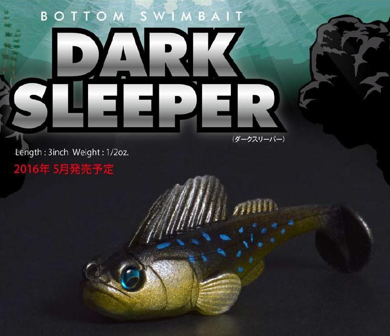 Megabass DARK SLEEPER 3inch 1//2oz
